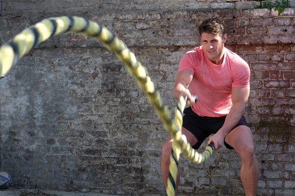 Joel Burgess Rugby Training